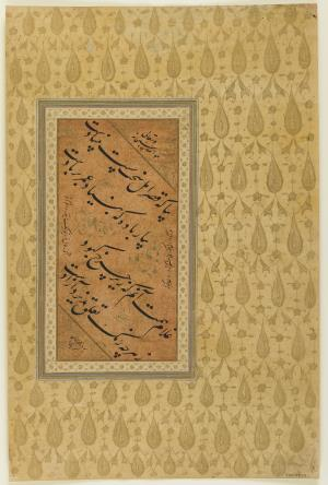 محمدزمان تبریزی - ۱۷th century  » محمدزمان تبریزی - ۱۷th century